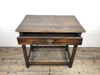 18th Century Oak Side Table (9 of 14)
