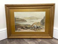 19th Century Scottish Highlands Watercolour Loch Kishorn By William Leighton Leitch (33 of 36)