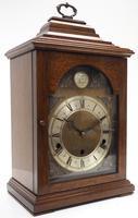 Fine Vintage Caddy Top Mantel Clock Dual Musical Bracket Clock by Elliott (5 of 13)