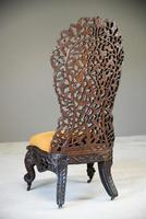Carved Anglo Indian Chair (9 of 12)