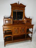 English 19th Century Walnut & Amboyna Cabinet