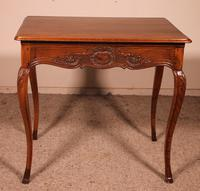 Small Louis XV Table In Oak -18 ° Century (7 of 10)