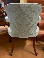Pair of Late 18th Century Hepplewhite Period Library Armchairs (6 of 6)