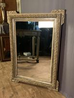 Decorative French Painted & Silver Gilt Mirror (2 of 6)