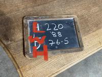 Bandy Leg French Bleached Oak Farmhouse Table (12 of 15)