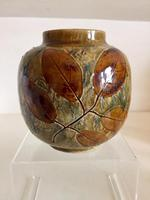Royal Doulton Stoneware Vase by Maud Bowden c.1920 (2 of 10)