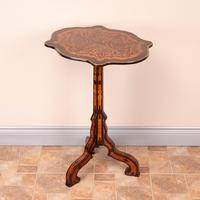 19th Century Marquetry Tripod Table (16 of 17)
