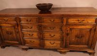 Superb Georgian Oak Serving Dresser Large (17 of 20)