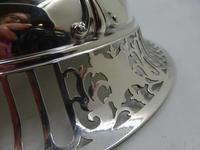 Antique Pierced Silver Dish Sheffield 1917 (7 of 7)