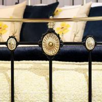 Decorative Antique Bed in Black (5 of 7)