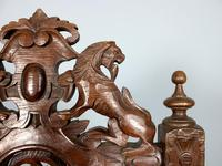 Rare Set of Eight 19th Century Hand Carved Dining Chairs (4 of 5)