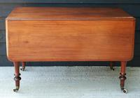 Good Quality Victorian Mahogany Pembroke Dining Table 'Seats 6 People' (3 of 10)