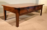 19th Century French Cherrywood Coffee Table (6 of 8)