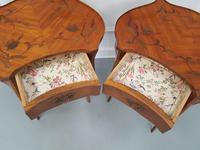 Pair of Kingwood Side Tables c.1930 (3 of 9)