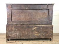 18th Century Welsh Oak Two Part Chest (13 of 13)