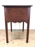 19th Century Oak Side Table (7 of 8)