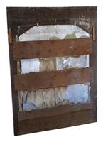 19th Century Large Quality Painted Chateau Overmantle / Wall Mirror (8 of 8)