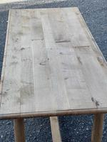 Rustic Bleached Oak Farmhouse Dining Table (6 of 25)