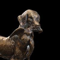 Antique Retriever Statue, English, Brass, Decorative, Dog Ornament, Victorian (10 of 12)
