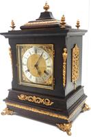 Amazing New Haven mantle clock 8 Day Westminster Chime Bracket Clock Very Rare (6 of 10)