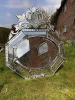 Large 19th Century Venetian Mirror (4 of 6)