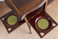 Very Unusual Late Victorian Mahogany Inlaid Tea / Supper Table (6 of 8)