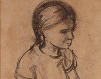 Portrait of Seated Girl (3 of 4)