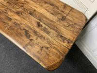 Rustic Oak Farmhouse Table & Bench Set (8 of 29)