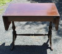 1960s Mahogany Sofa Table with Drawers (3 of 3)