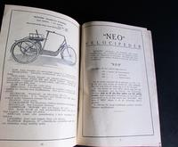 1931 Monark Motorcycle & Bicycle Rare Catalogue / Brochure Sweden (6 of 7)
