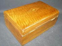 Victorian Antique Mahogany Domed Writing Slope Document box Tunbridge Centre (4 of 5)