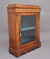 19th Century Walnut & Marquetry Pier Cabinet (3 of 11)