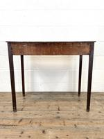 Antique Georgian Oak Side Table with Drawer (10 of 10)