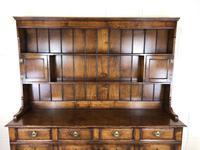 Large 20th Century Georgian Style Oak Dresser (9 of 12)