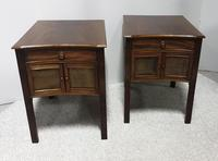 Very Good Pair of Mahogany Bedside Cabinets (2 of 13)