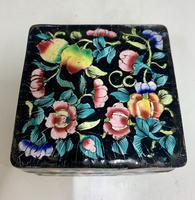 Antique Oriental Cloisonné Enamel Box c.1890 (3 of 8)