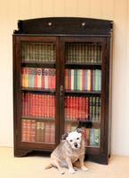 Arts & Crafts Dark Oak Bookcase (5 of 9)