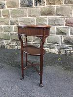 Antique Mahogany Bijouterie Display Table (5 of 9)