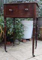 1820s Mahogany Single Drawer Work / Side Table (2 of 6)