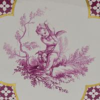 Large Victorian Minton Sevres Style Square Jardiniere (8 of 15)