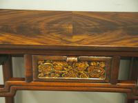 Chinoiserie Mahogany Side Table by Whytock and Reid (13 of 13)
