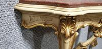 Good Pair of French Parcel Gilt Console Tables (4 of 12)