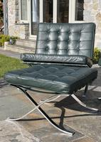 Pair of Barcelona Chairs & Ottoman (26 of 30)