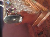 Antique Sheraton Inlaid Three Bottle Tantalus (10 of 12)