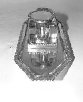 Edwardian Solid Silver Inkstand (4 of 6)