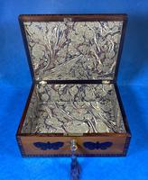 William IV Early Mosaic Tunbridge Ware Table Box (18 of 20)