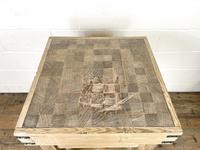Rustic Wooden Butcher's Block with Marble Top (10 of 10)