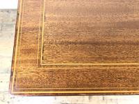 Antique Edwardian Mahogany Writing Desk (7 of 12)