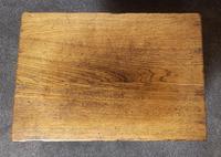 Solid Oak Magazine Rack / Side Table Titchmarsh Goodwin (8 of 8)
