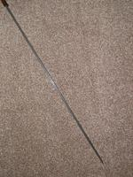 Vintage Bamboo 1953 Queen Elizabeth's Coronation  Brass Topped Sword Stick (7 of 18)